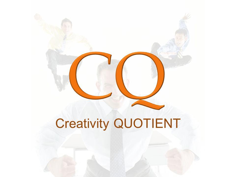 CQ Creativity QUOTIENT