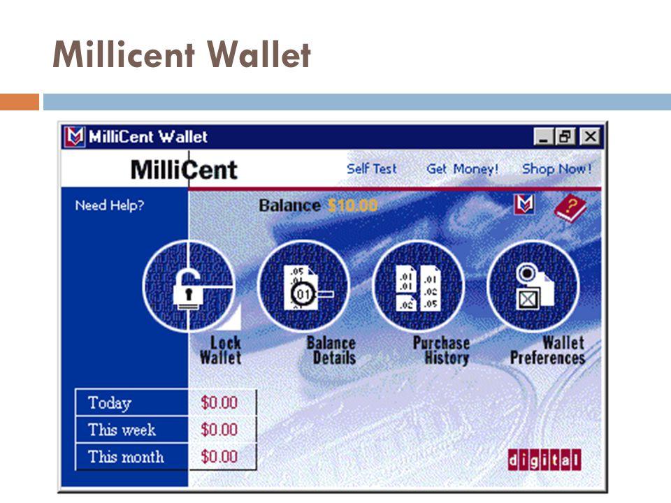 Millicent Wallet