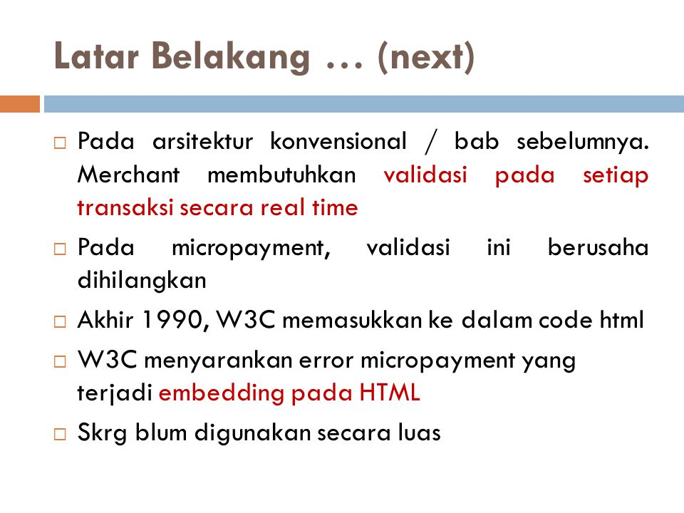 Latar Belakang … (next)