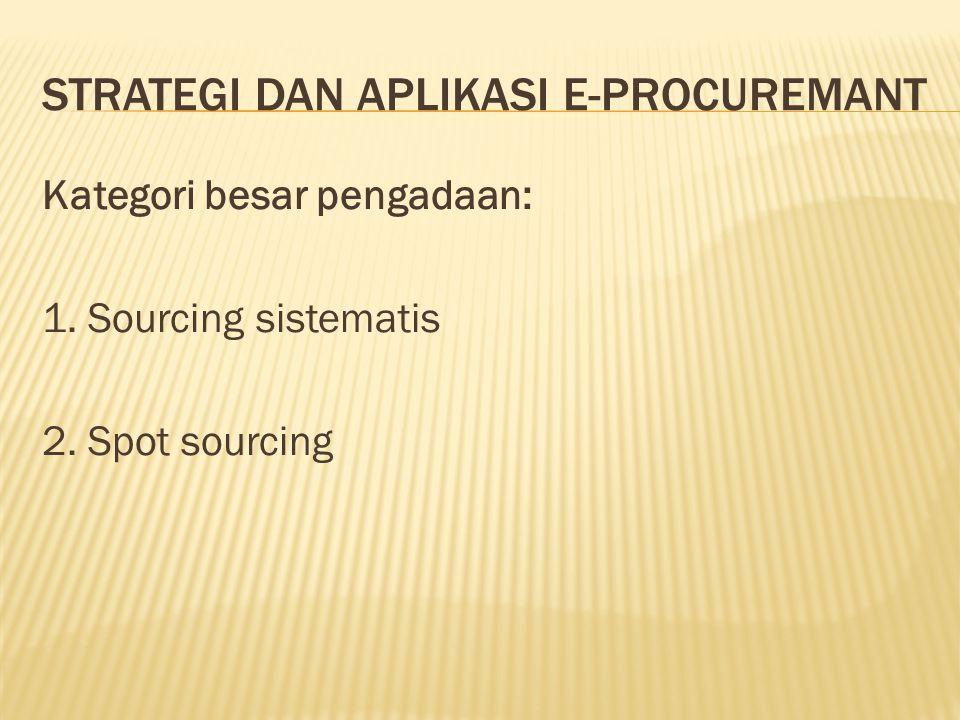 Strategi dan aplikasi e-procuremant