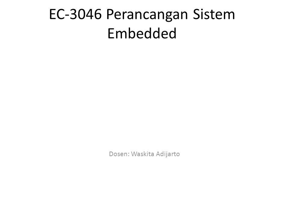 EC-3046 Perancangan Sistem Embedded