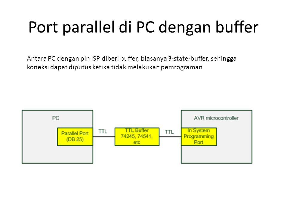 Port parallel di PC dengan buffer