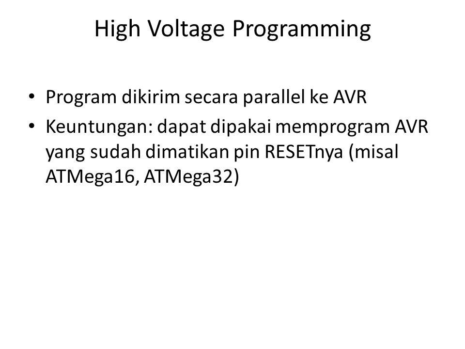 High Voltage Programming