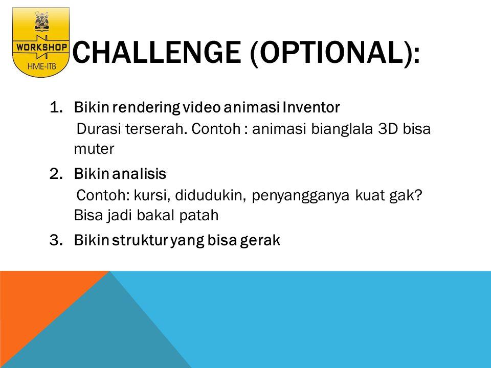 CHALLENGE (OPTIONAL):