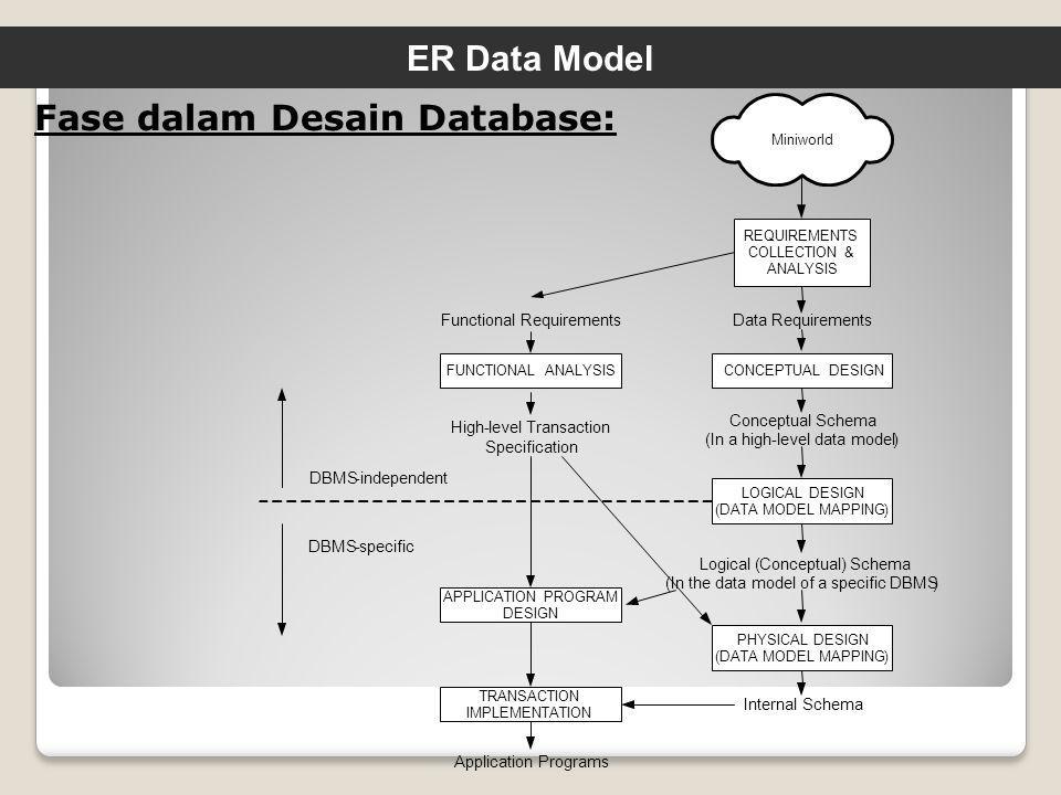 Fase dalam Desain Database: