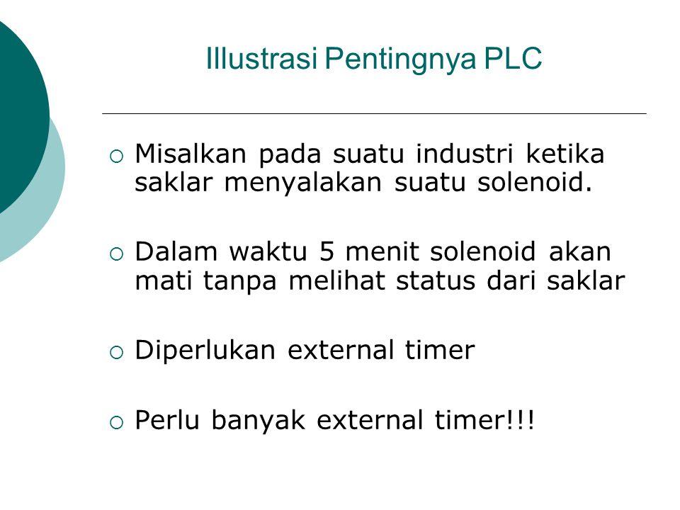 Illustrasi Pentingnya PLC