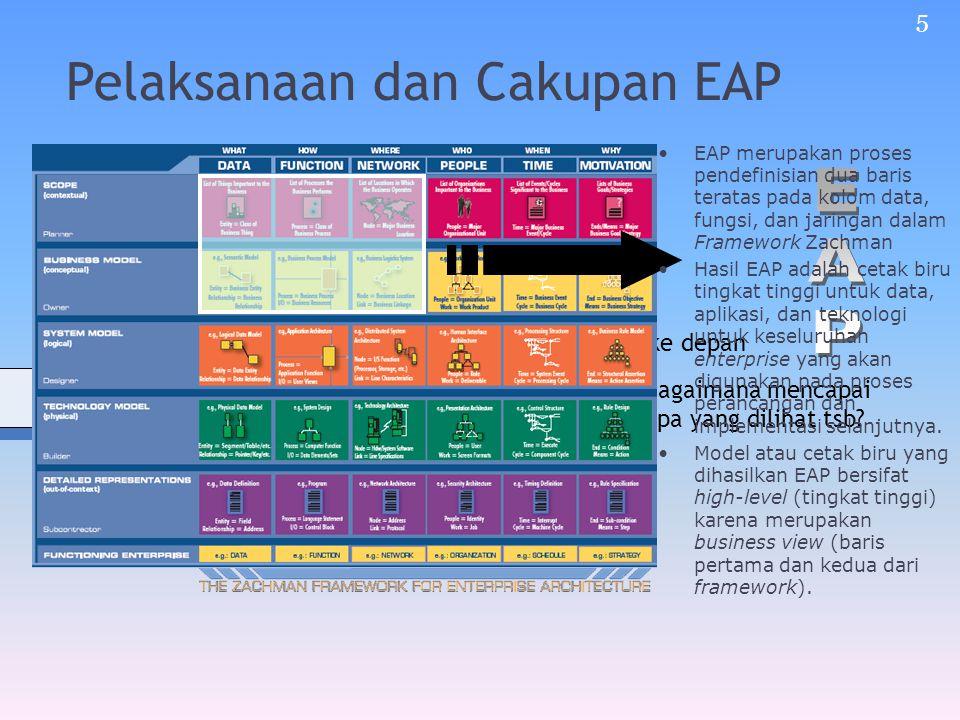 Pelaksanaan dan Cakupan EAP