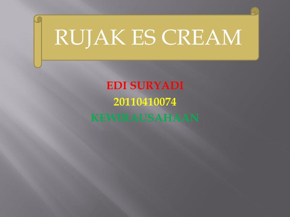 EDI SURYADI 20110410074 KEWIRAUSAHAAN