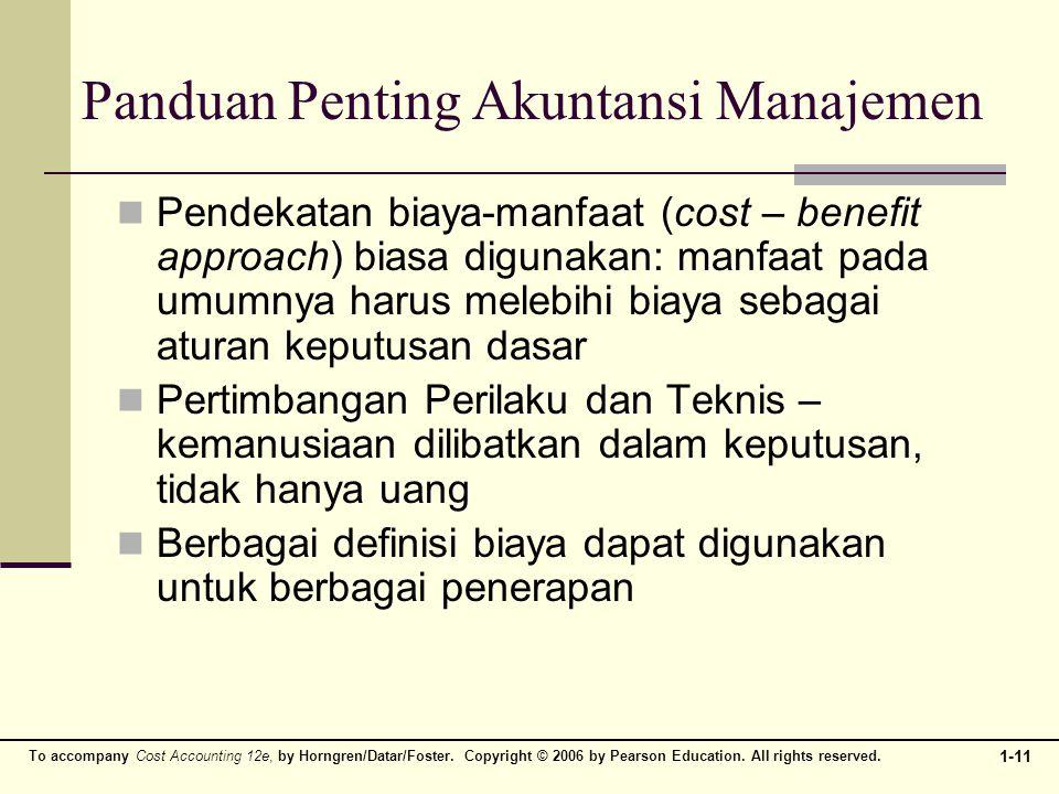 Panduan Penting Akuntansi Manajemen