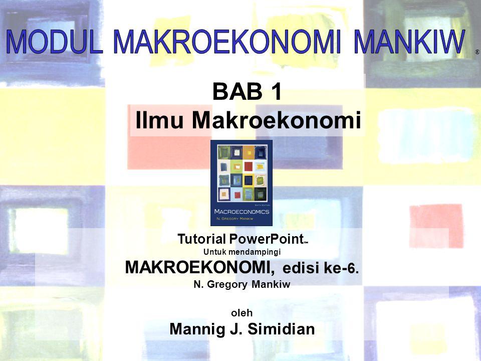 MAKROEKONOMI, edisi ke-6.