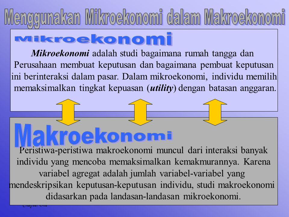 Menggunakan Mikroekonomi dalam Makroekonomi