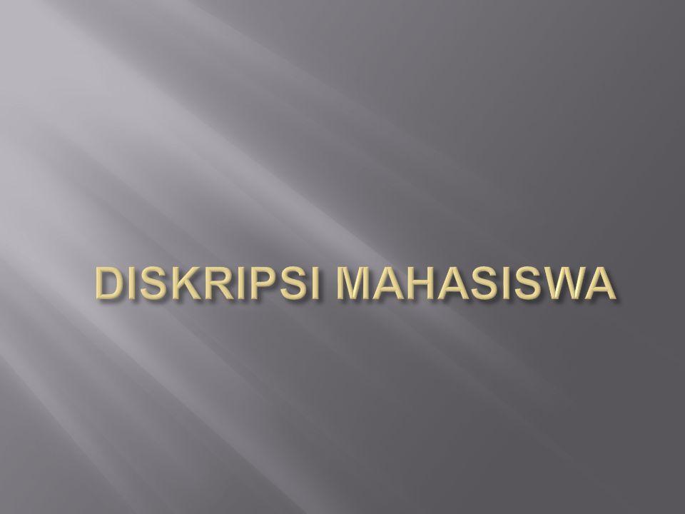 DISKRIPSI MAHASISWA