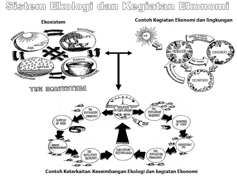 Sistem Ekologi dan Kegiatan Ekonomi