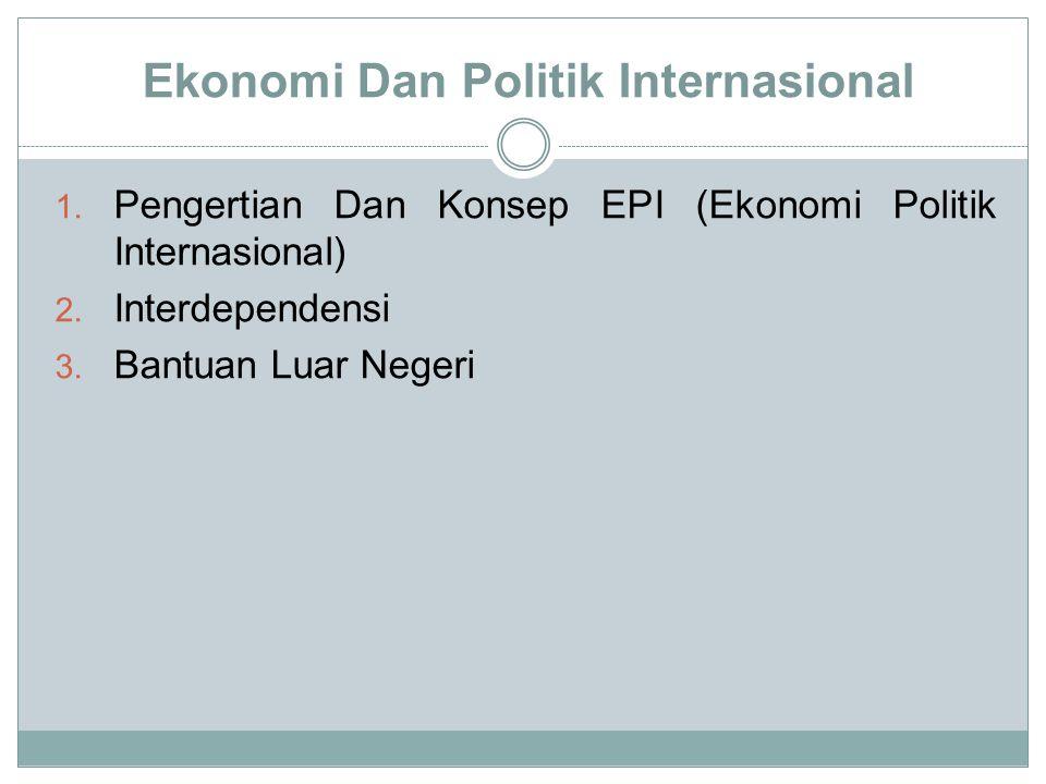 Ekonomi Dan Politik Internasional