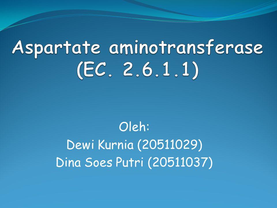 Aspartate aminotransferase (EC. 2.6.1.1)