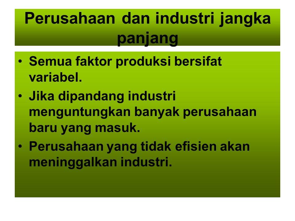Perusahaan dan industri jangka panjang