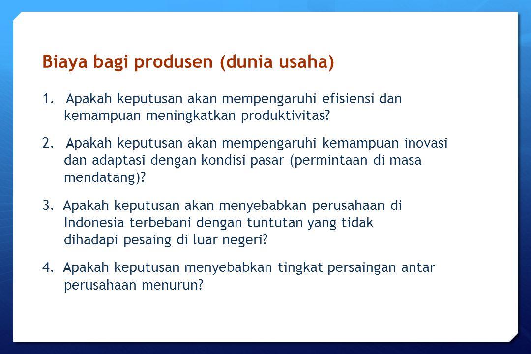 Biaya bagi produsen (dunia usaha)