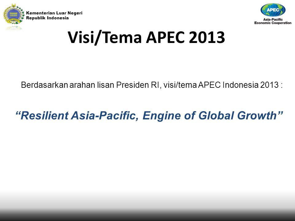 Resilient Asia-Pacific, Engine of Global Growth