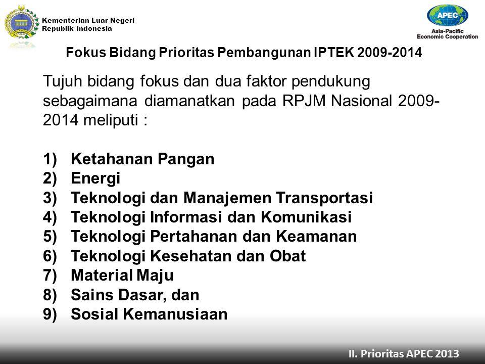 3) Teknologi dan Manajemen Transportasi