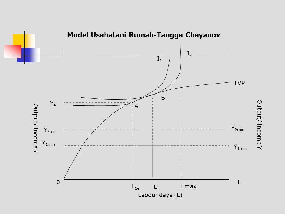 Model Usahatani Rumah-Tangga Chayanov