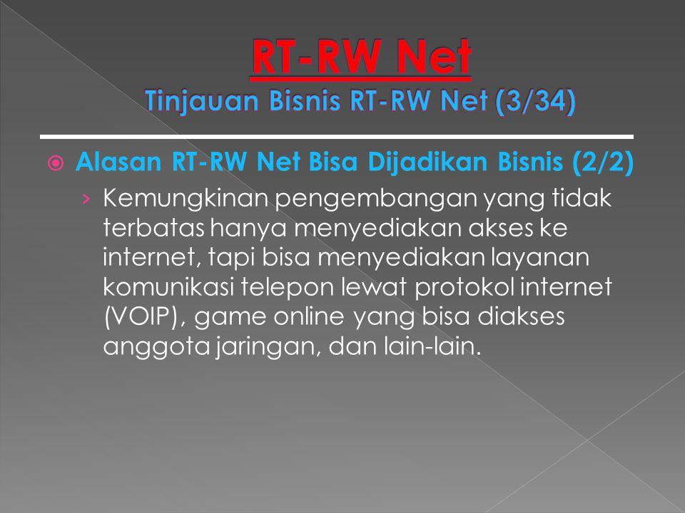RT-RW Net Tinjauan Bisnis RT-RW Net (3/34)