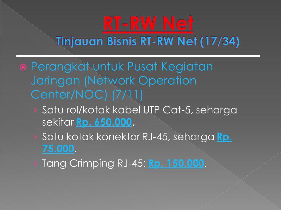 RT-RW Net Tinjauan Bisnis RT-RW Net (17/34)