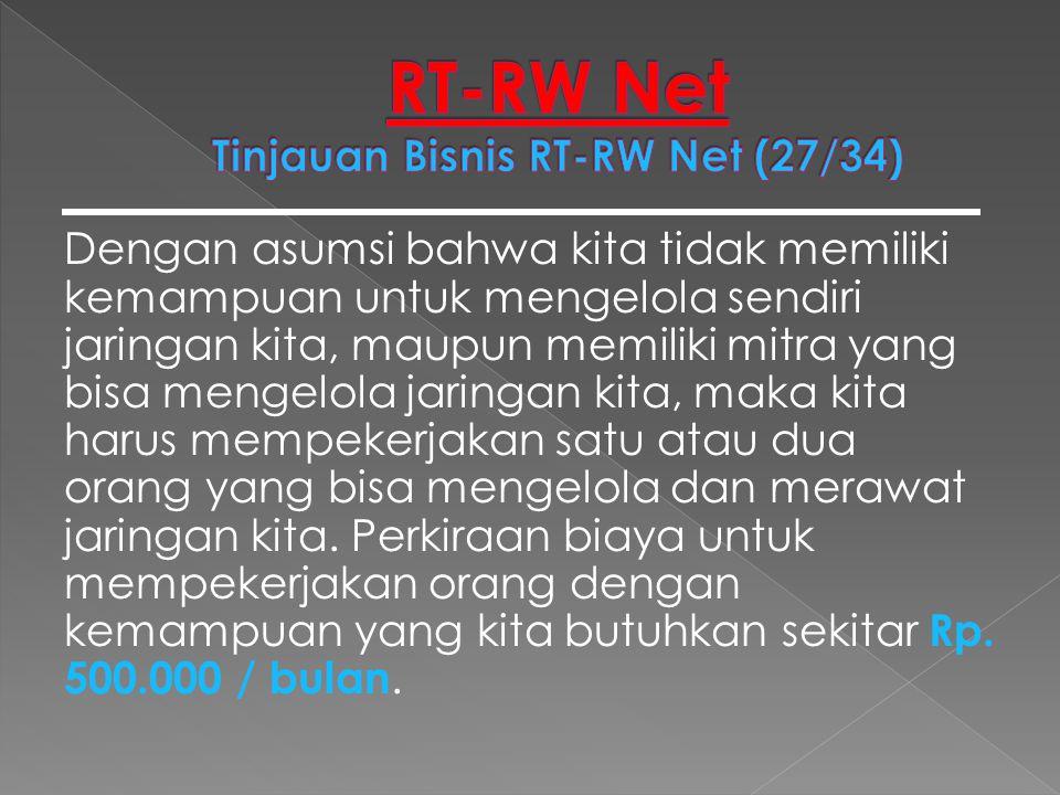 RT-RW Net Tinjauan Bisnis RT-RW Net (27/34)
