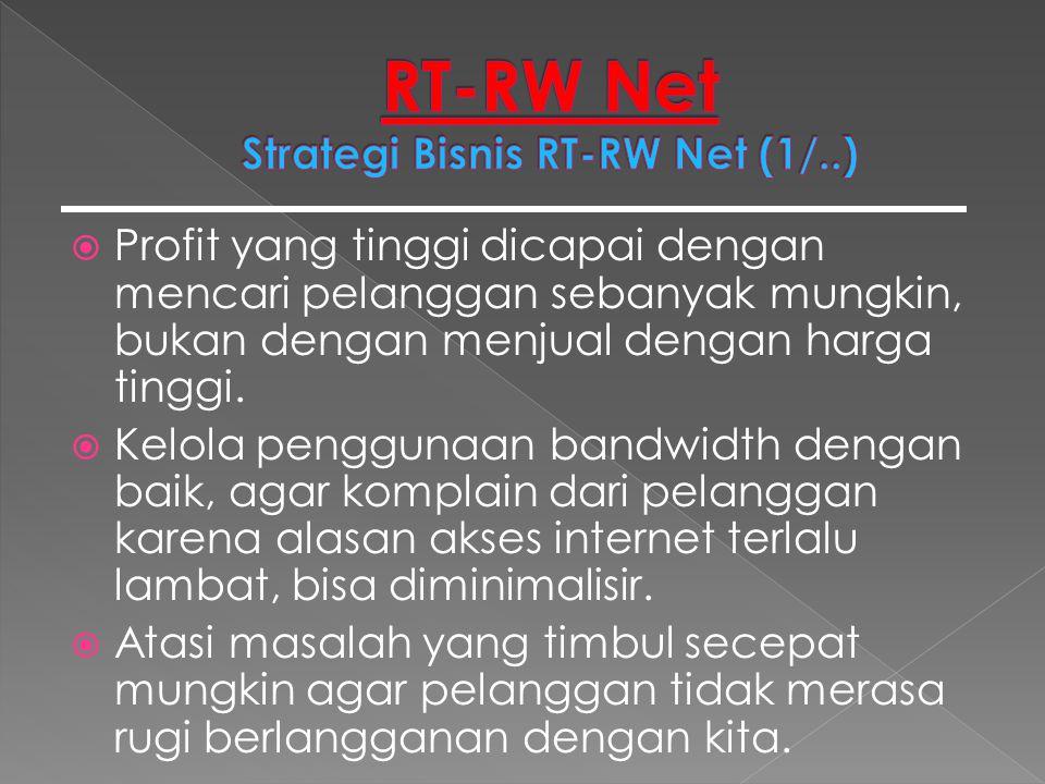 RT-RW Net Strategi Bisnis RT-RW Net (1/..)