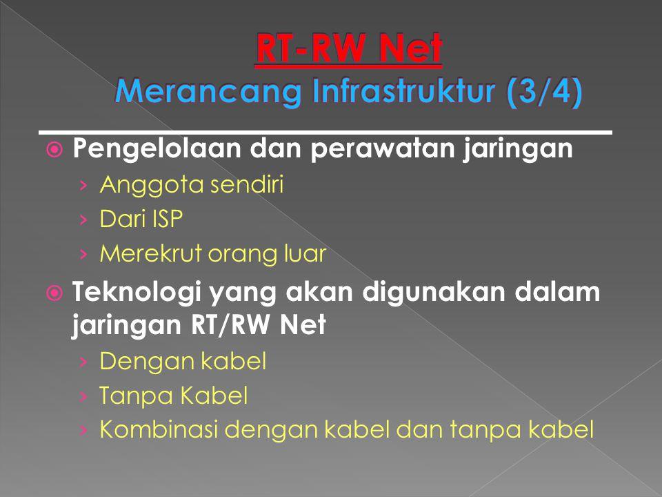 RT-RW Net Merancang Infrastruktur (3/4)