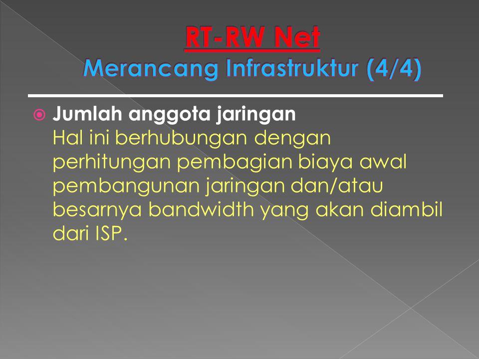 RT-RW Net Merancang Infrastruktur (4/4)