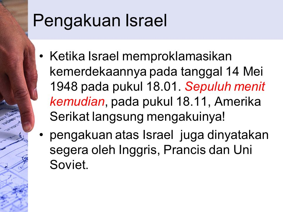 Pengakuan Israel