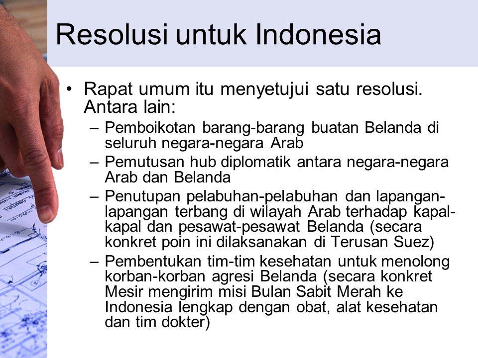 Resolusi untuk Indonesia