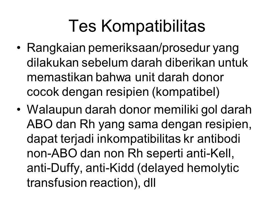 Tes Kompatibilitas