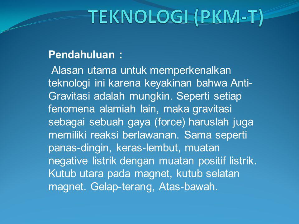 PKM-PENERAPAN TEKNOLOGI (PKM-T)