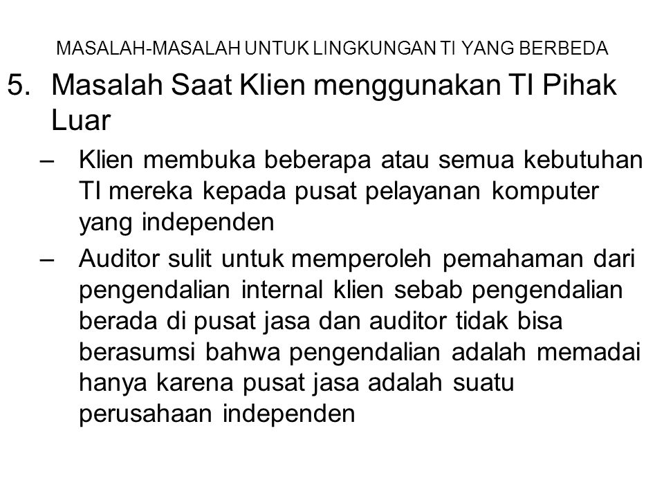 Bab_11 Dampak TI pd Proses Audit