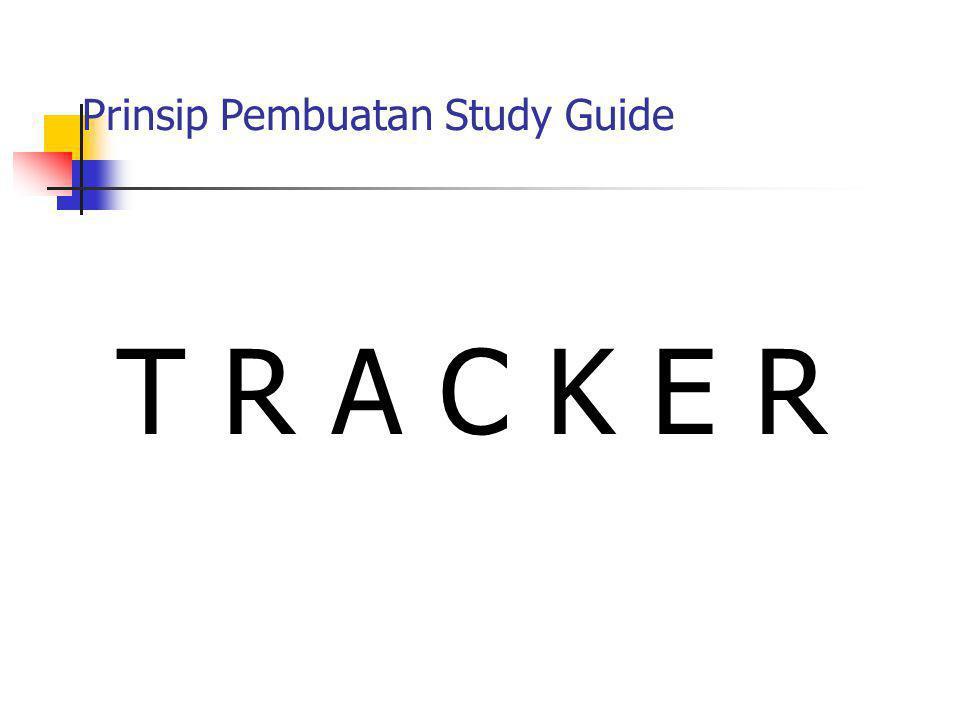 Prinsip Pembuatan Study Guide