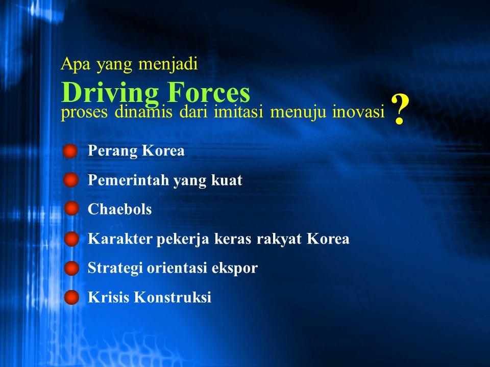 Driving Forces Apa yang menjadi
