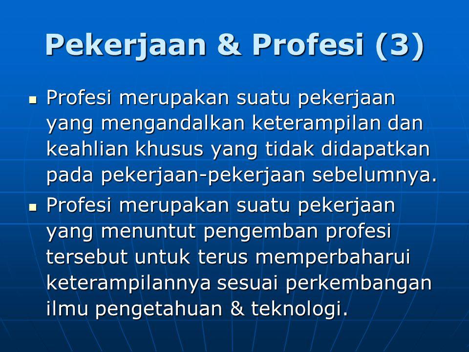 Pekerjaan & Profesi (3)