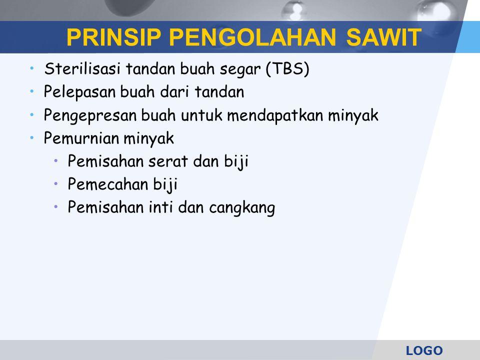 PRINSIP PENGOLAHAN SAWIT