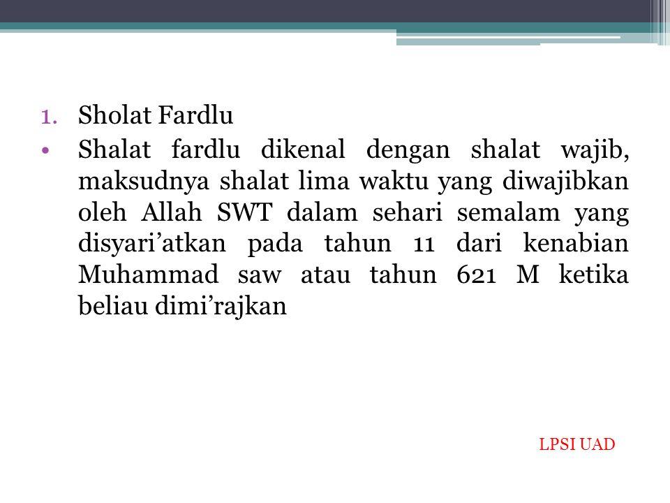 Sholat Fardlu