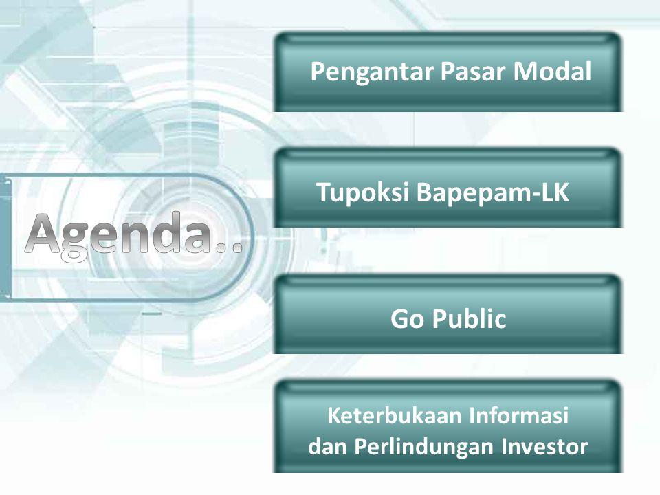 Keterbukaan Informasi dan Perlindungan Investor