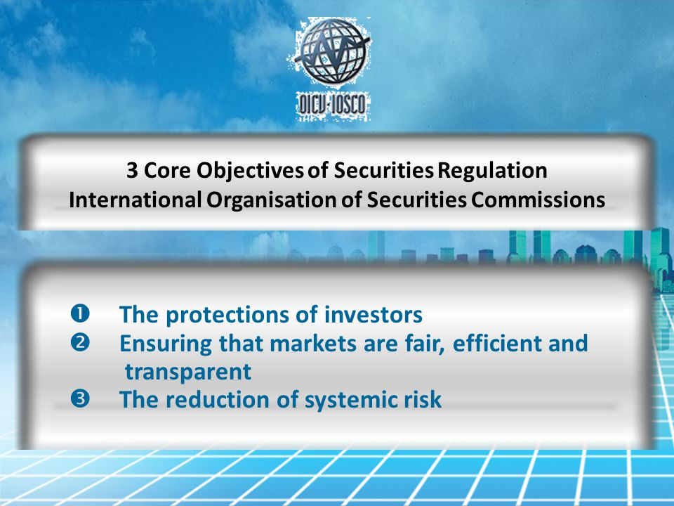 The protections of investors