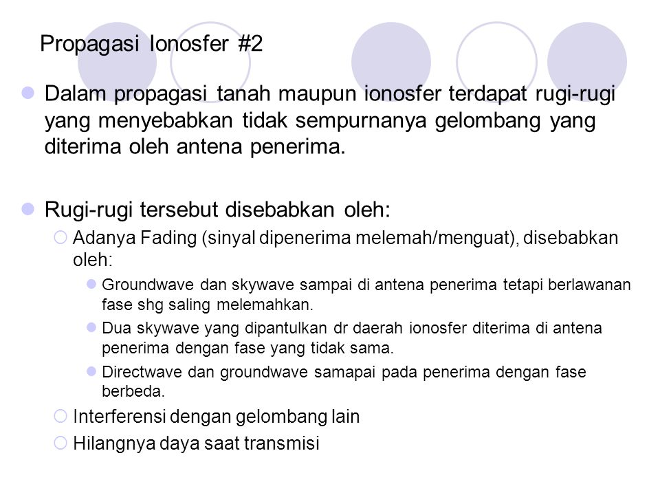Propagasi Ionosfer #2