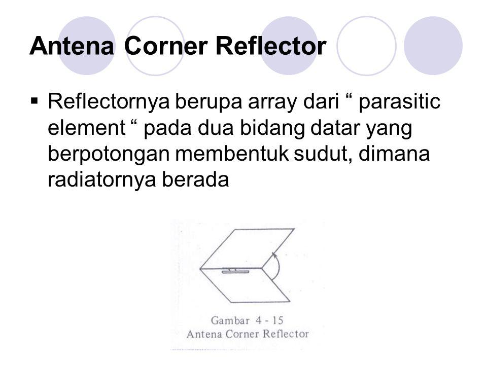 Antena Corner Reflector