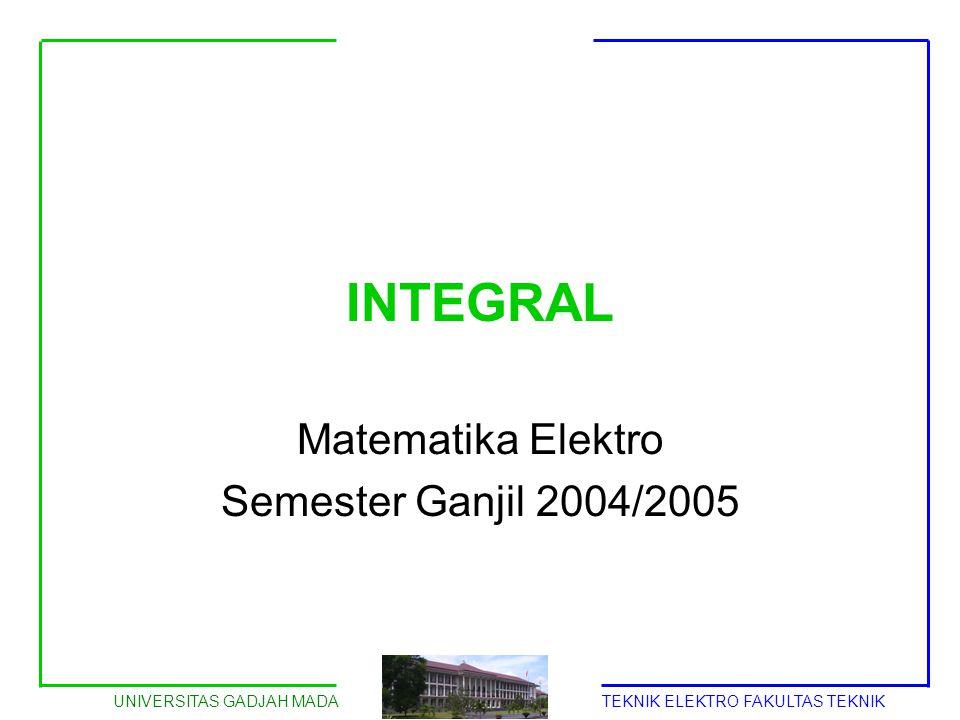 Matematika Elektro Semester Ganjil 2004/2005