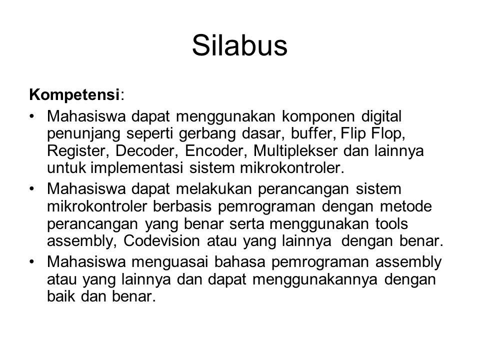 Silabus Kompetensi: