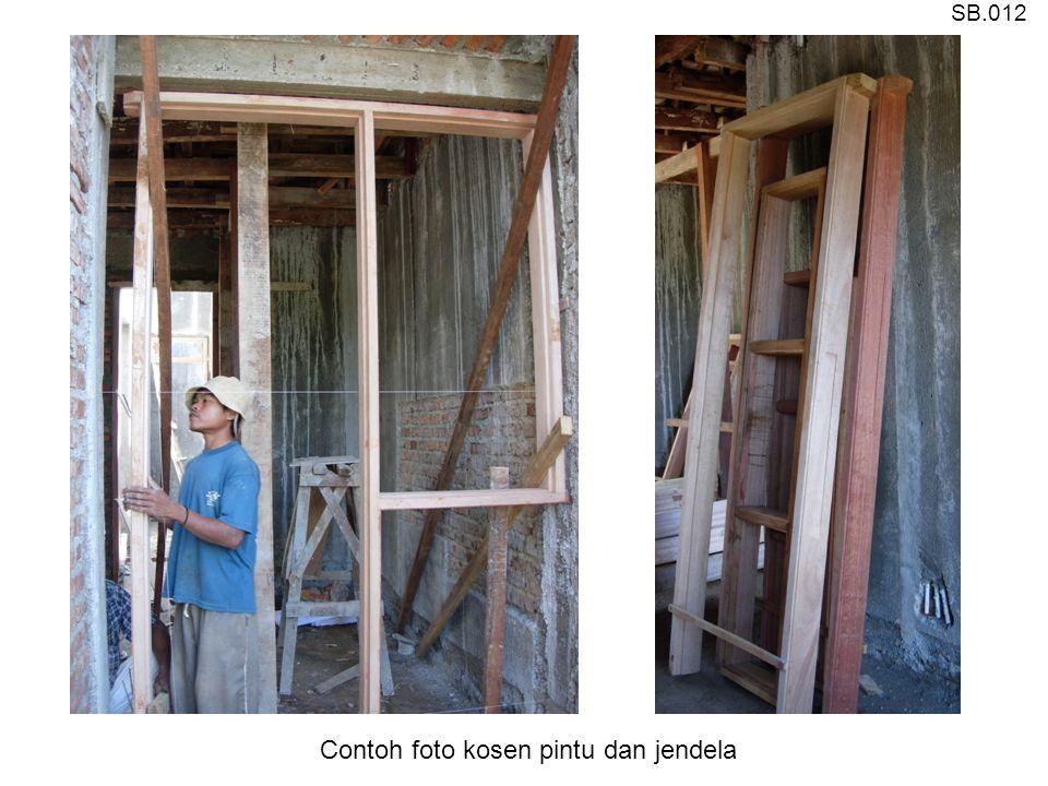 Contoh foto kosen pintu dan jendela