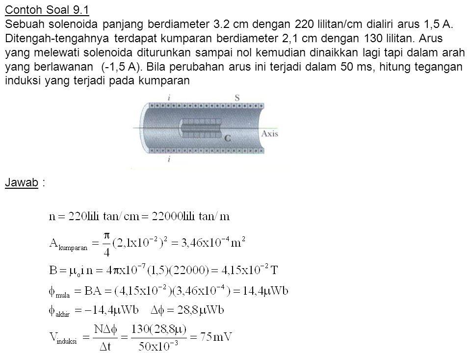 Contoh Soal 9.1