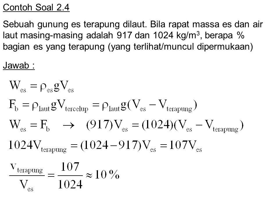 Contoh Soal 2.4