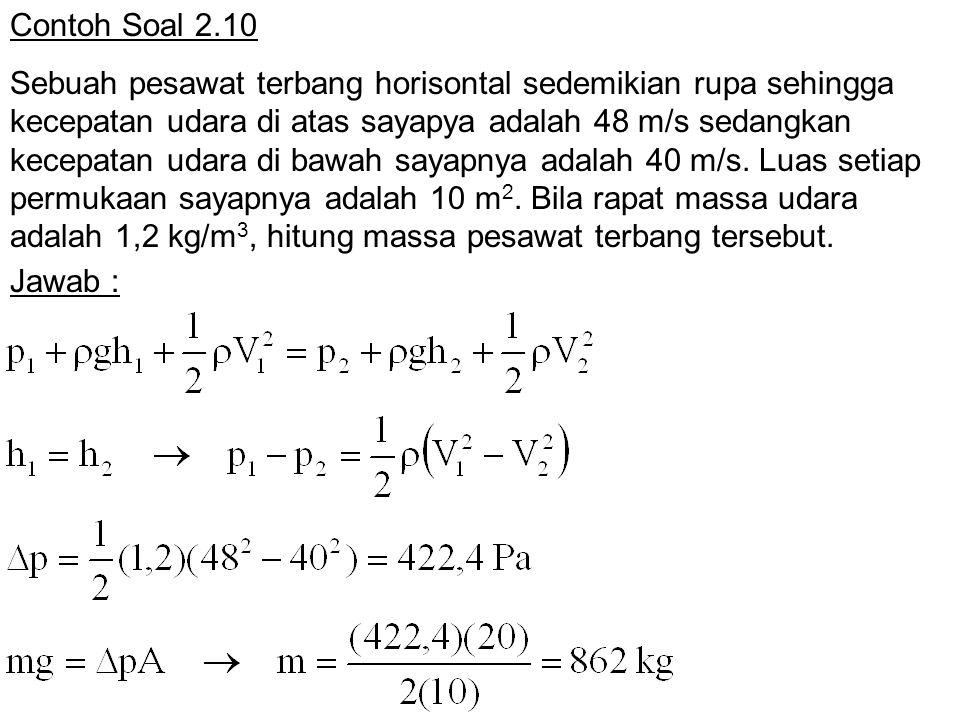 Contoh Soal 2.10